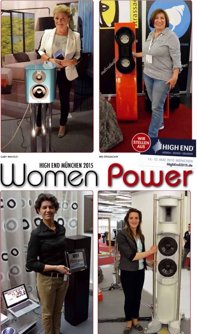 39 women power 39 sterke vrouwen in de audiowereld audio ingang - Decoreer een gang ingang ...