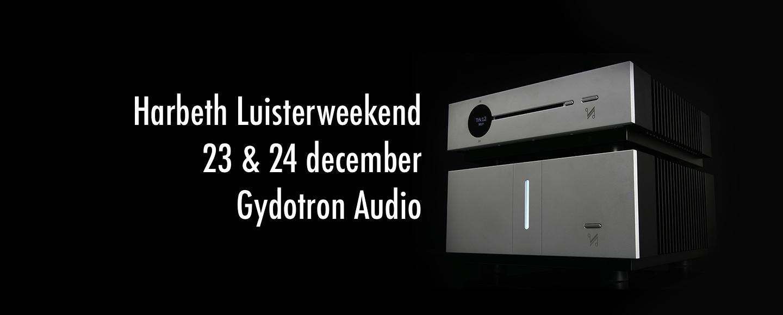 Harbeth Luisterweekend - 23 & 24 december - Gydotron Audio