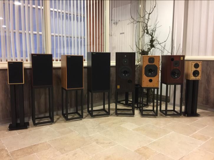 Volledige lijn Harbeth luidsprekers bij Legendary Sound