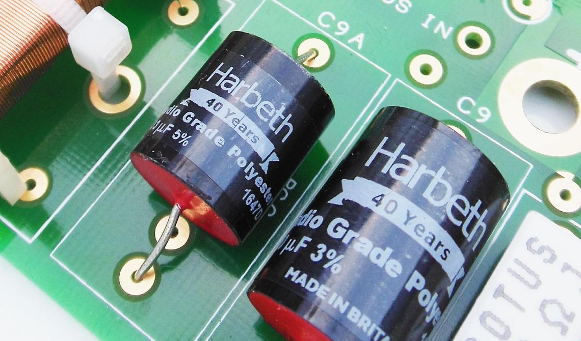 Harbeth 40th Anniversary SHL5plus poly condensatoren