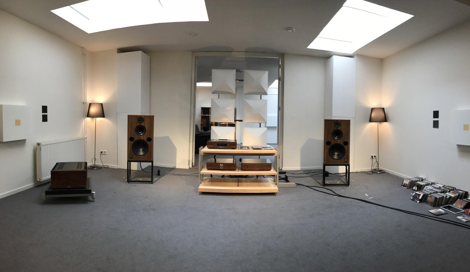 Verslag Harbeth road show Chattelin Audio Systems