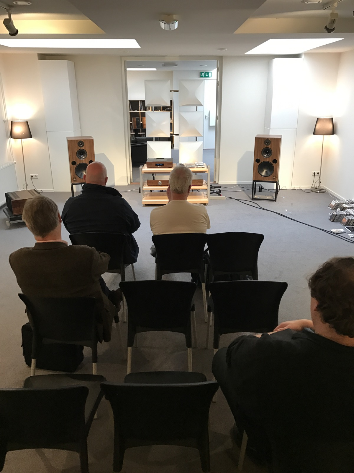 Verslag Harbeth road show Chattelin Audio Systems