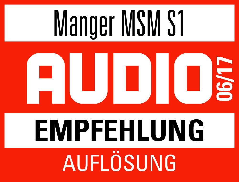 Audio test Manger MSM s1