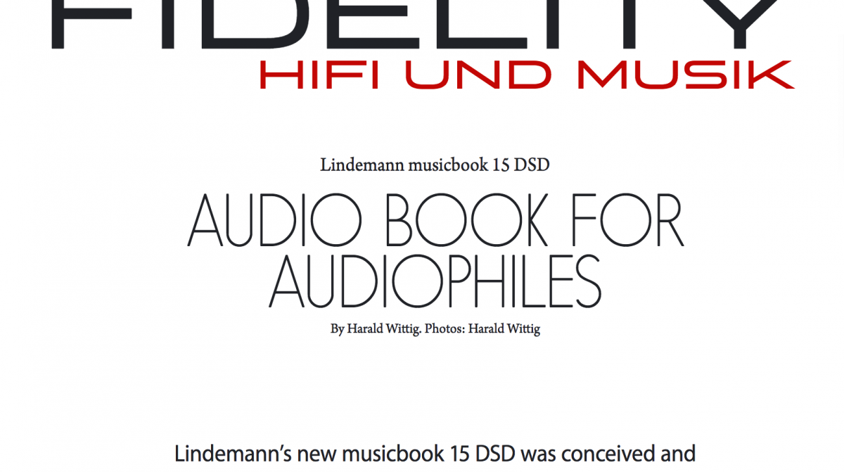 Fidelity test musicbook 15