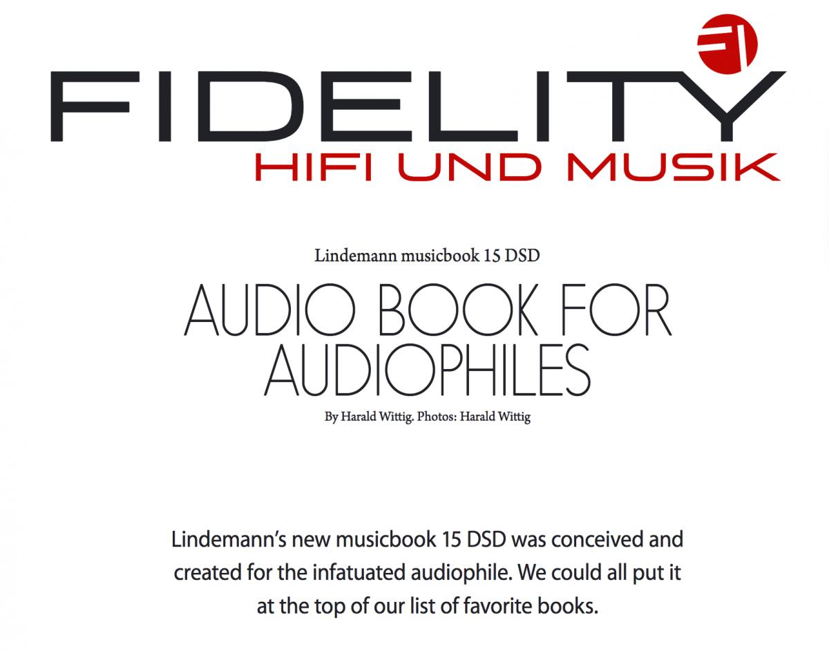 Fidelity test musicbook 15