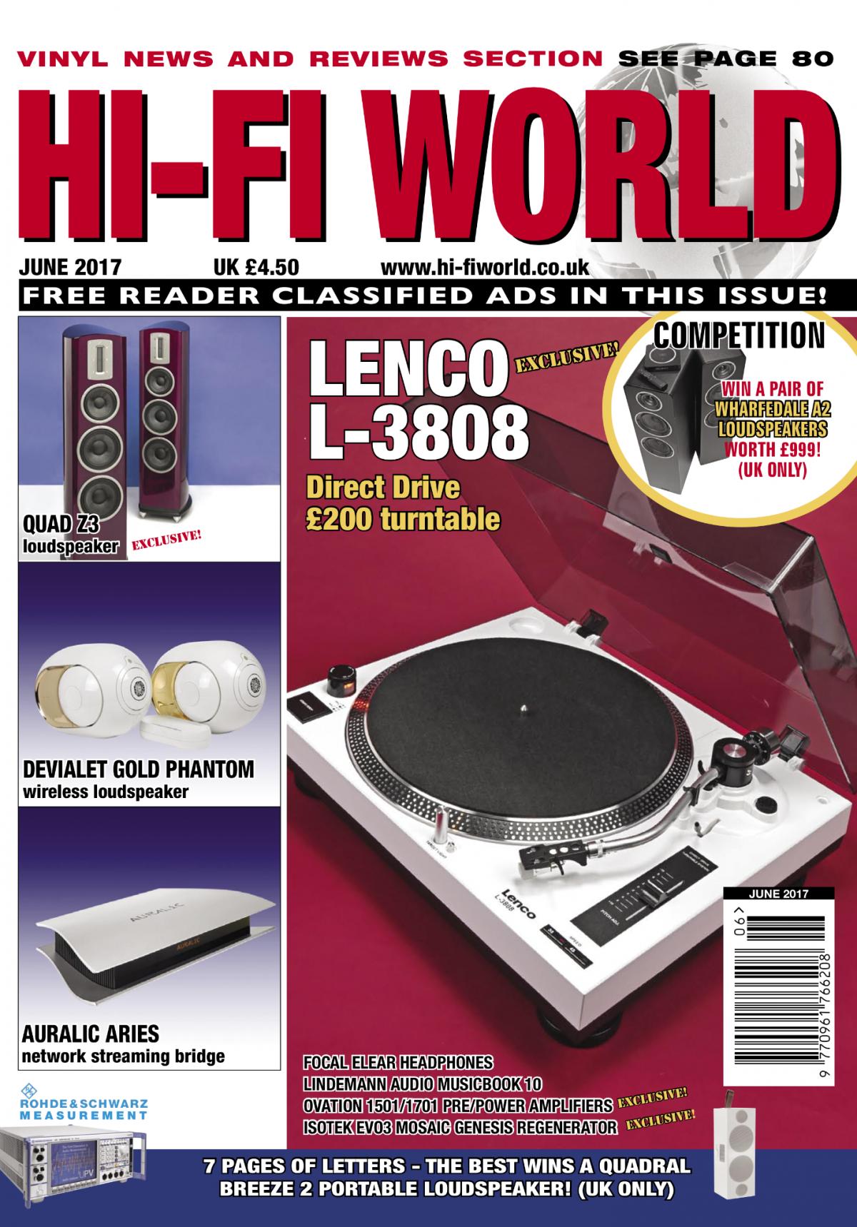 Hifi World test Lindemann musicbook 10