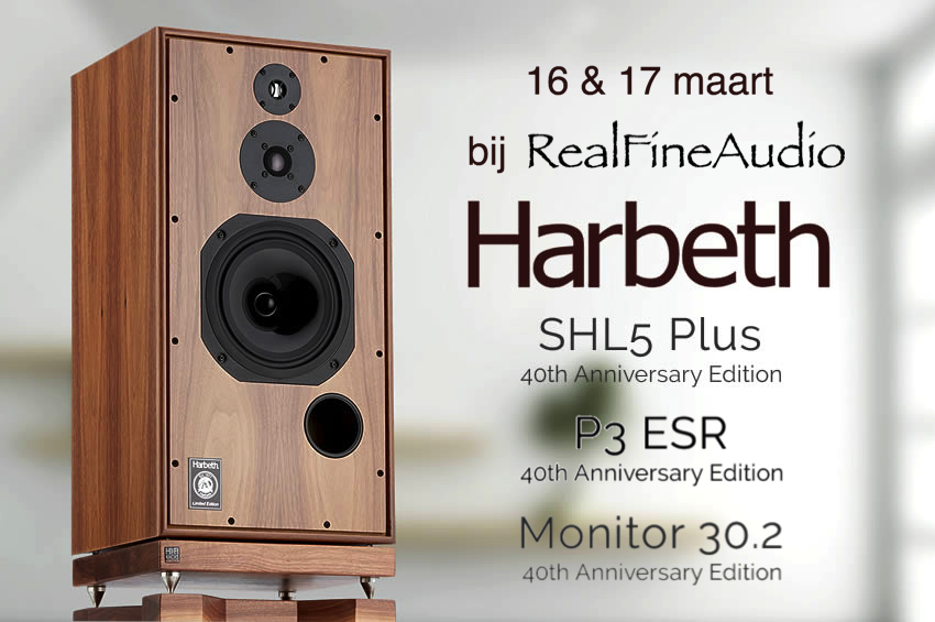 RealFineAudio presenteert Harbeth