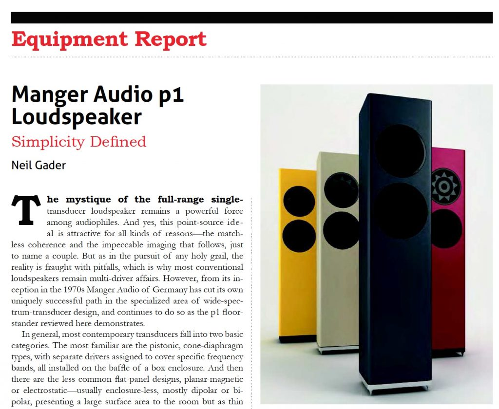 The Absolute Sound test Manger p1