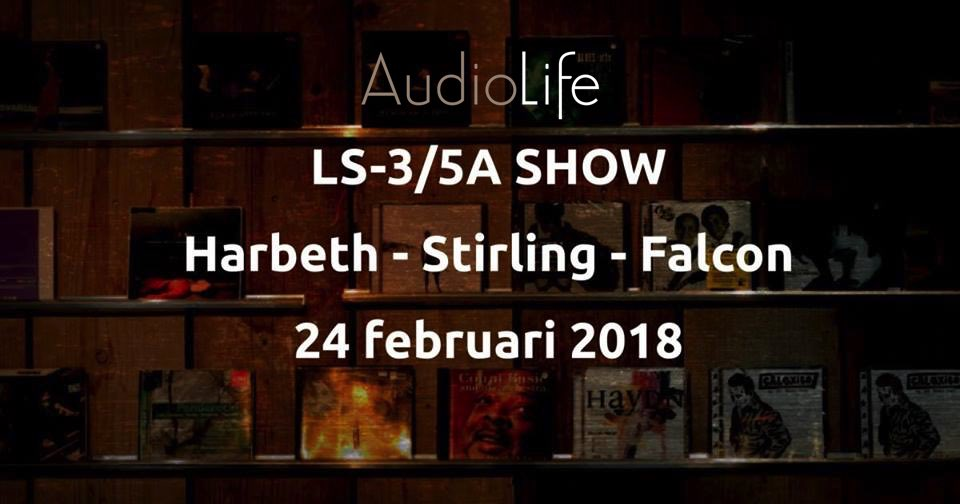 LS3/5a show bij Audio-Life