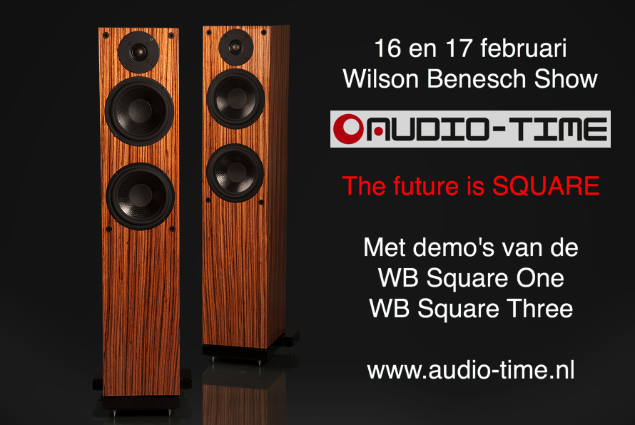 Wilson Benesch show bij Audio Time