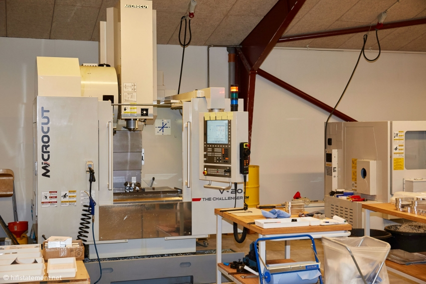 3-as CNC machine