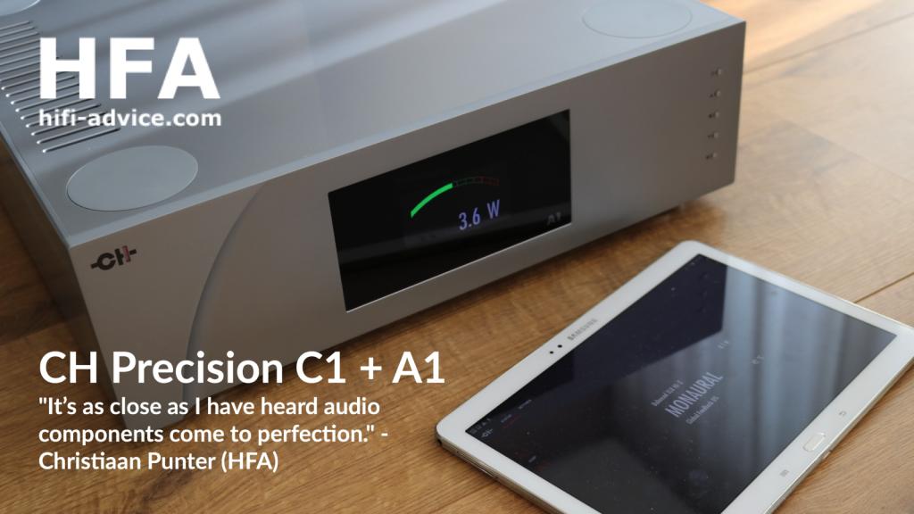 Hifi-Advice.com test CH Precision C1 - A1