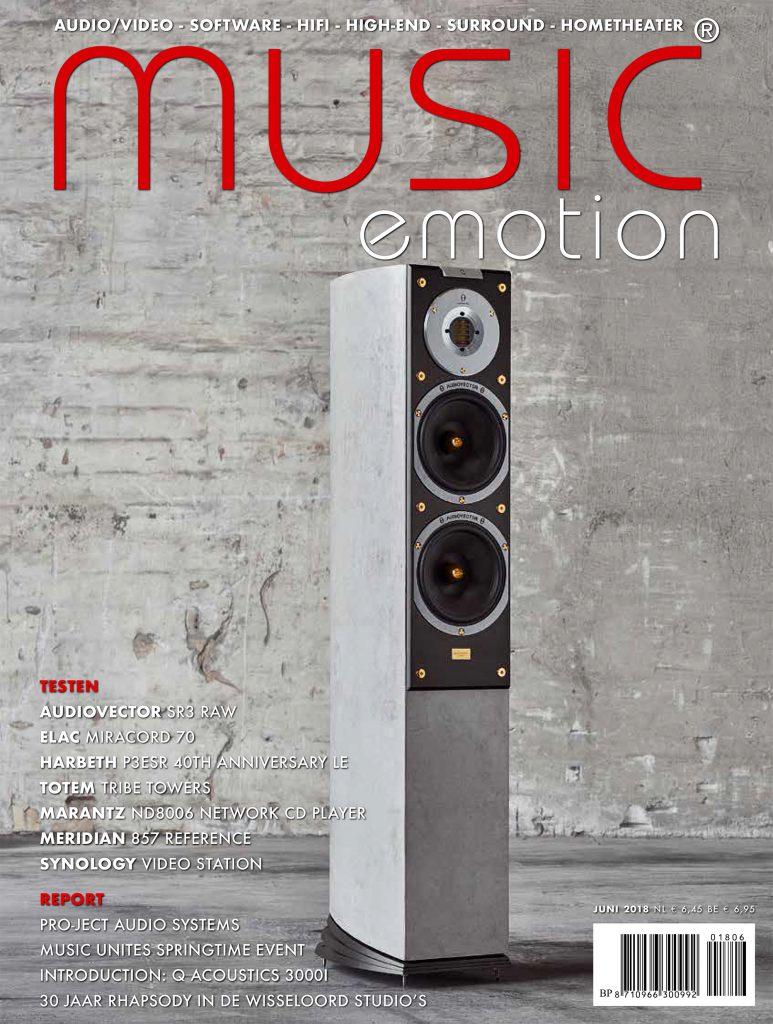 Music Emotion test Harbeth P3ESR 40th Anniversary