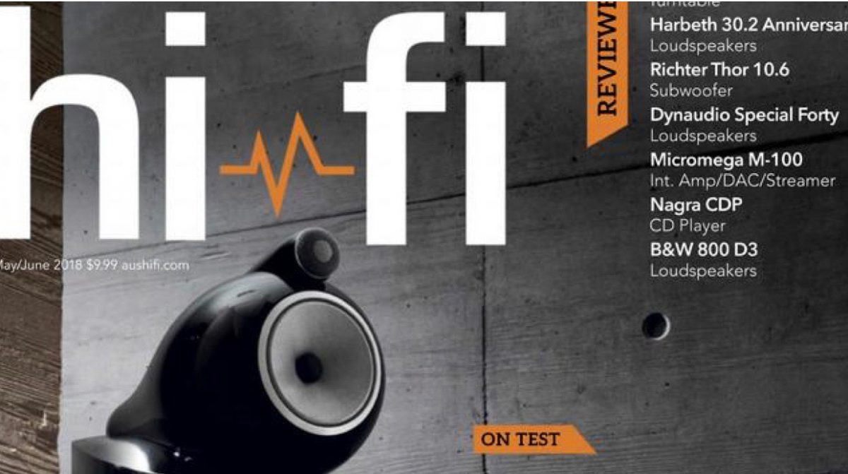 Australian Hifi test Harbeth M30.2