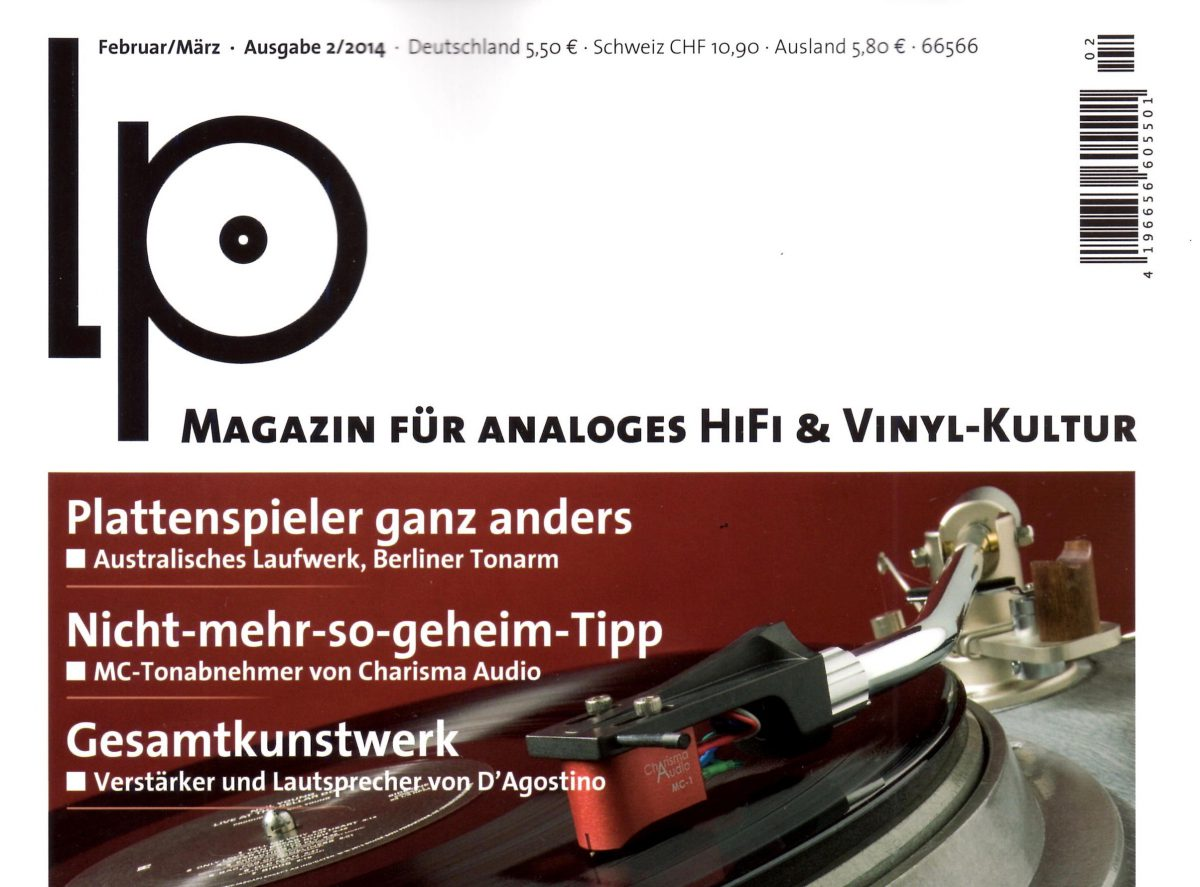 LP Magazin test Charisma Audio MC-1