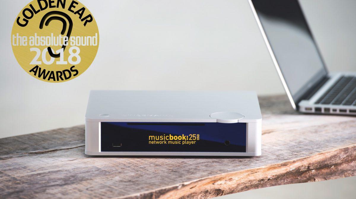 Lindemann musicbook 25 wint Golden Ear Award