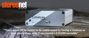 Stereonet UK test Limetree Phono