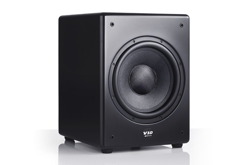 Stereo test M&K Sound V10 subwoofer
