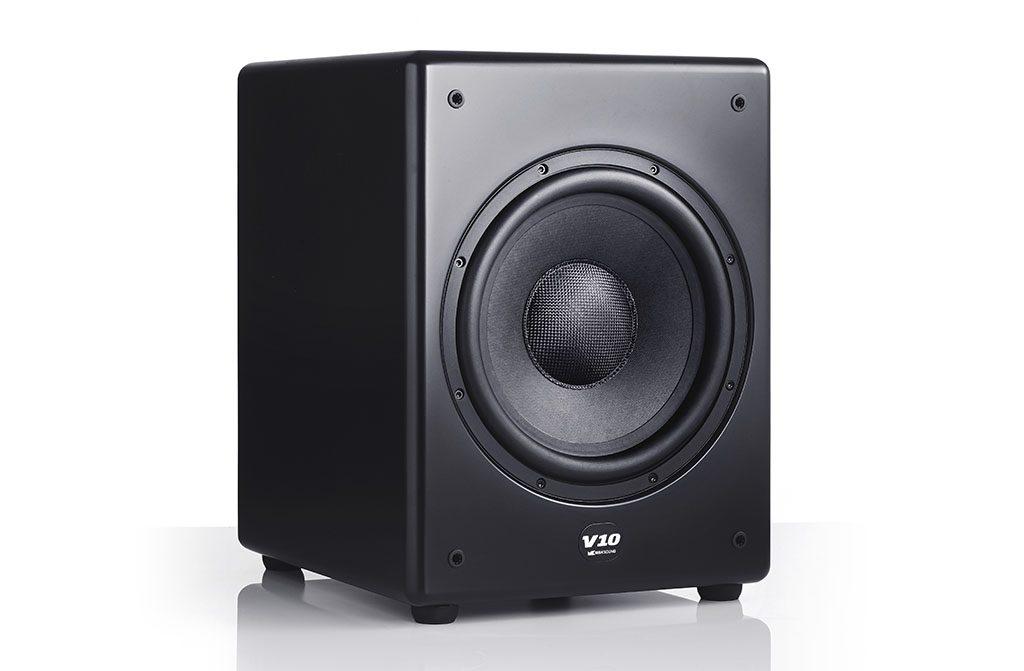 Stereo test M&K Sound V10 subwoofer