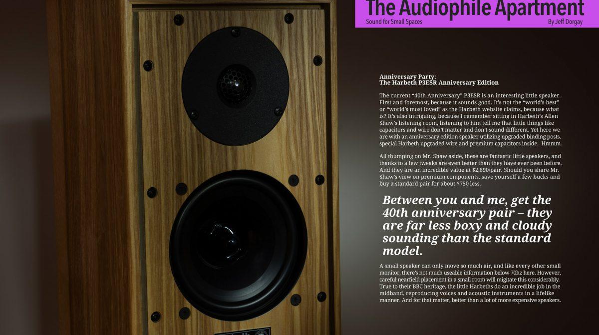 ToneAudio test Harbeth P3ESR 40th Anniversary